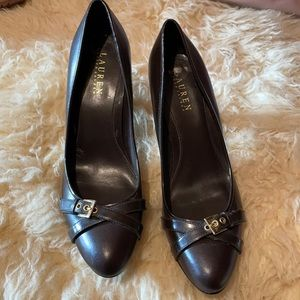 Like new RALPH LAUREN leather shoes